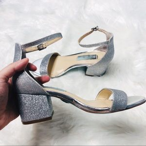 Blue Betsey Johnson Miri Sandal Heel   Size 5